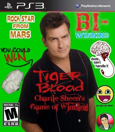 Charlie Sheen's Winning. Made by: . MATURE fuck yo titles nigga
