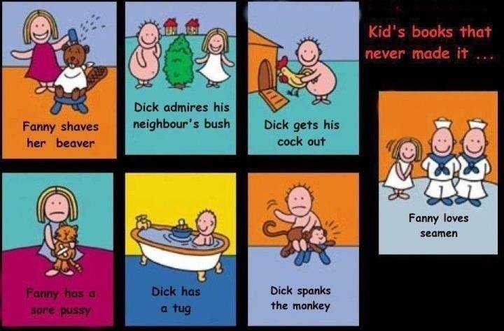 children's books. . Dick admires his neighbour': bush Fanny lavas seamen children's books Dick admires his neighbour': bush Fanny lavas seamen