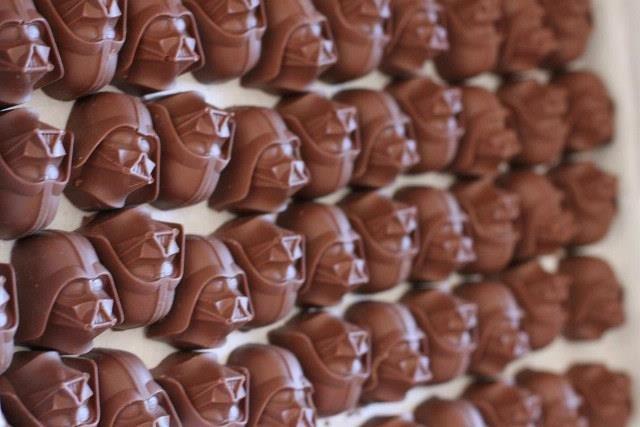 Chocolate Darth Wader. Who could say no?. Chocolate Darth Wader Who could say no?