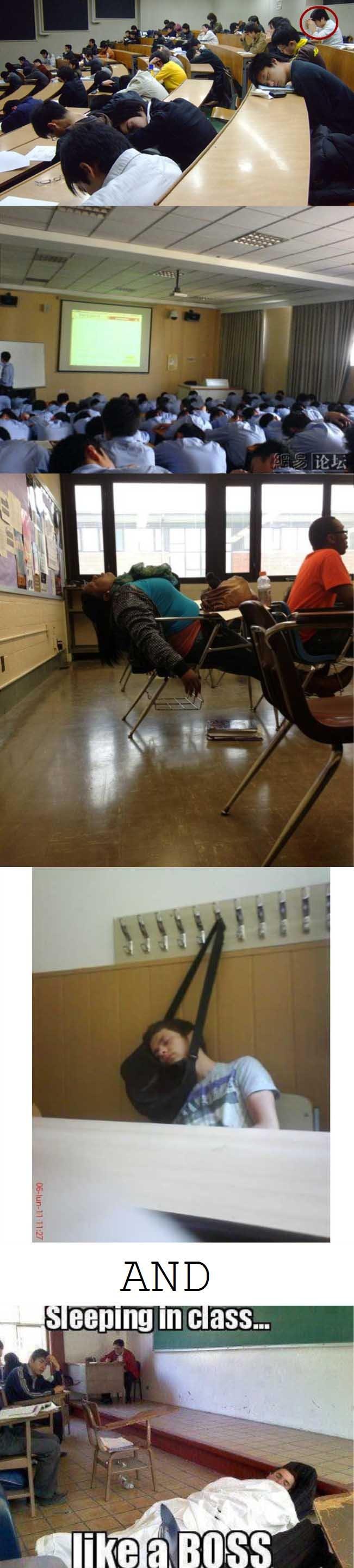 classroom is best place to sleep. .. LUNCH BREAK!!! classroom is best place to sleep LUNCH BREAK!!!