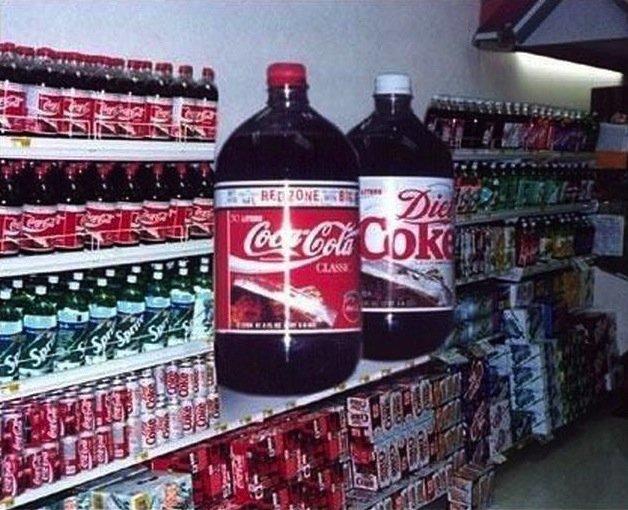 Coca Cola XXXXXL. Coca Cola XXXXXL .. I like how one is Diet Coke >.> humor funny lol