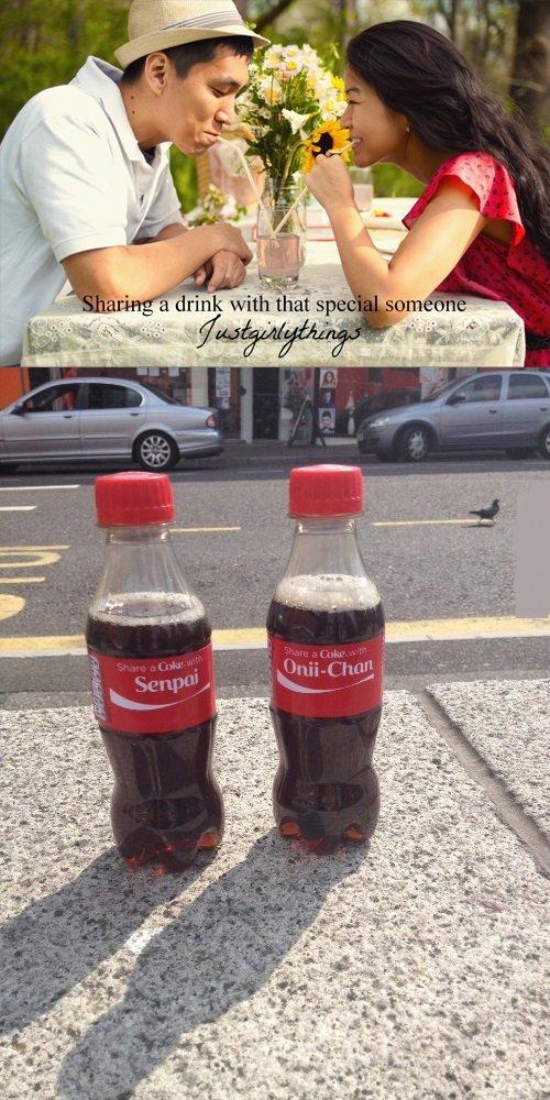 Coke. S-Senpai..... an l itit a rink Fftl%. Please tell me that's actually a thing. Coke S-Senpai an l itit a rink Fftl% Please tell me that's actually thing