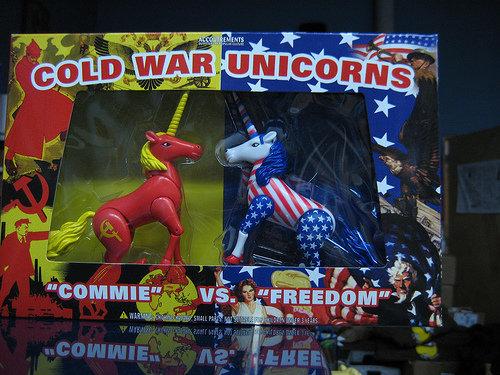 Cold War Unicorns. It's some serious .. Cold War unicorns attack