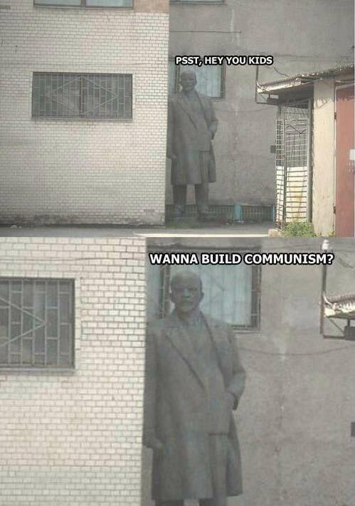Communist statue. .. Looks harmless. >inb4 komjunism kild 300 trilion pipl comunist Statue
