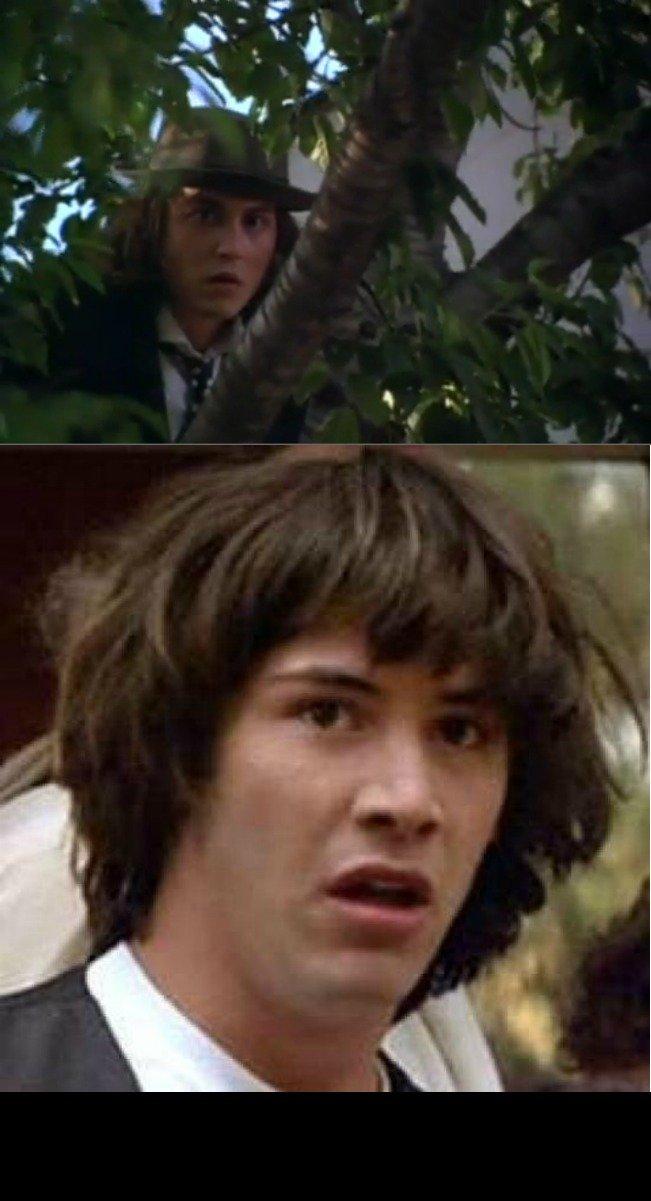 Conspiracy Keanu. OC by me.. Conspiracy Keanu OC by me