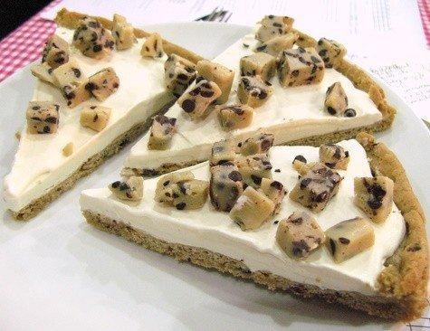 Cookie Dough Ice Cream Pizza. 'Murcuh. i want..... It's a cheesecake you dildo diabetes