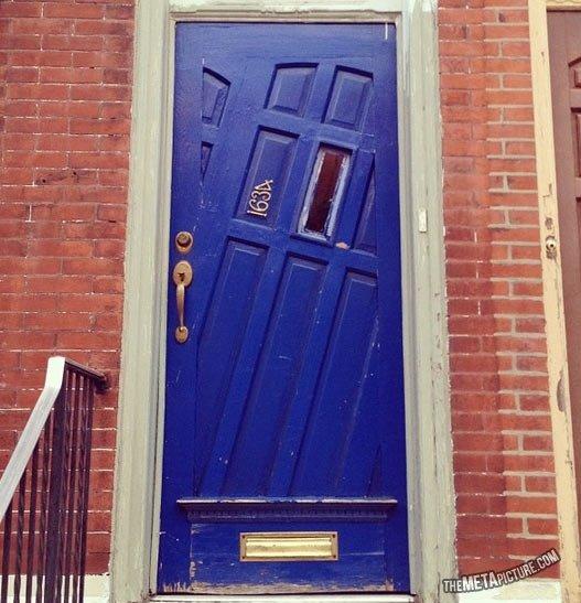 Cool looking door. .. Go home door ... you are drunk ! Cool looking door Go home you are drunk !