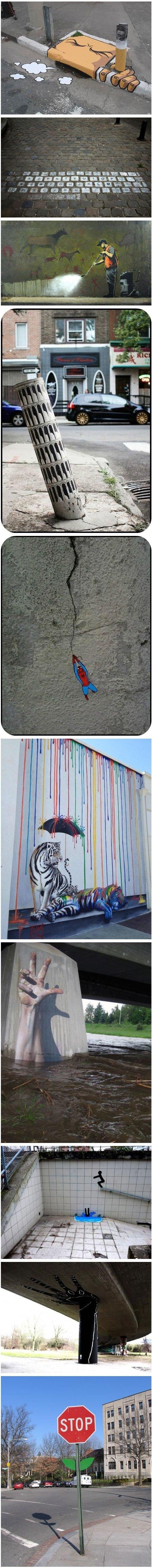 creative street art. . creative street art