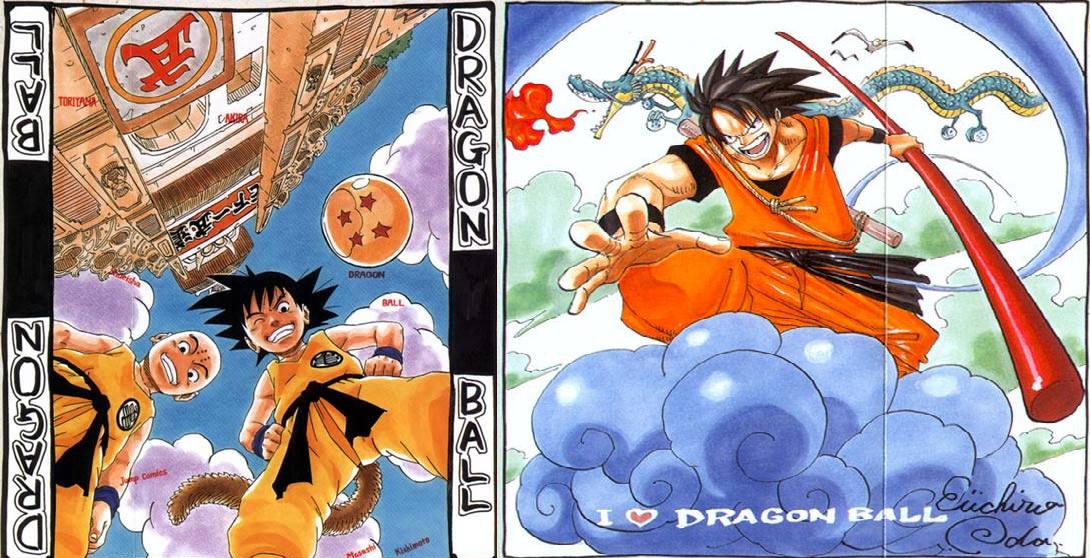 Creators Of Naruto and One Piece Draw DB. 1st drawing is from the creator of Naruto, 2nd one is from the creator of One Piece... Sell your soul to Buddha. dbz Naruto one piece