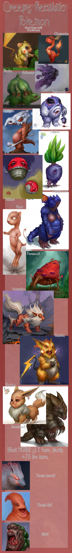 Creepy Realistic Pokemon Comp. NOT MY ART. Jussayin'. My first upload on FJ. I'm a squishy noob, be nice to me.. mar um? mag ltr?. arcanine looks like a god pokemon creepy r