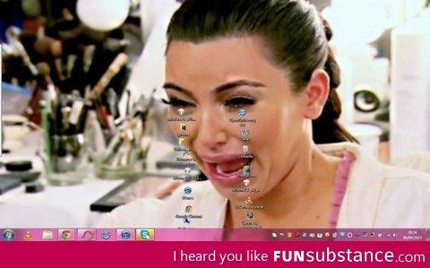 Crying kim. . I heard you like Funsubstance. ca, Crying kim I heard you like Funsubstance ca