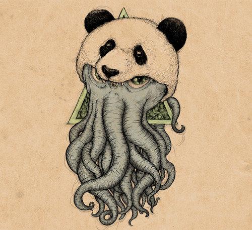 cthullhu panda?. yes it is indeed. cthullhu panda? yes it is indeed