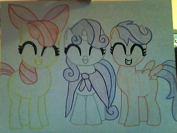 Cutie Mark Crusaders?. cutie mark crusaders...what more do you need?. cutie mark ponie