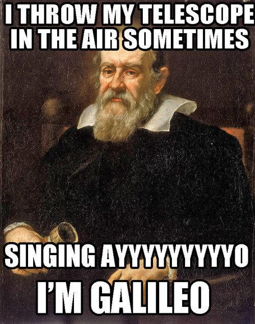 Galileo. . the Galileo game