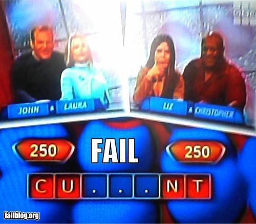 Game show FAIL. . 1 250 I Faill. I no r c. IJI rall) my TI. CURRENT game Show fail ifuckrakes