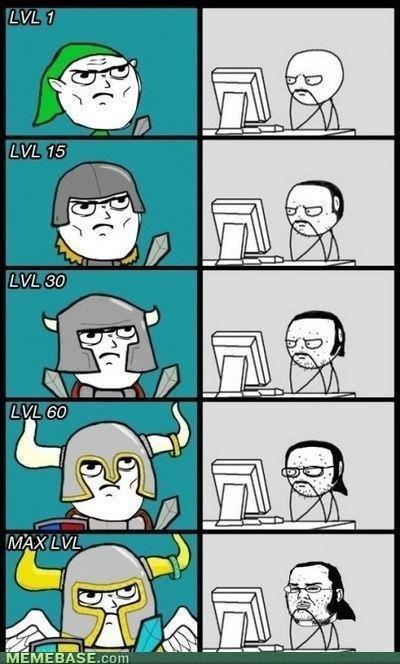 Gamers. Evolution.. So all good gamers are Neckbeards? I dun think so. Also, RP. RE evolution