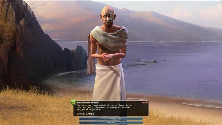 Gandhi. . I an Poo Willy Bum