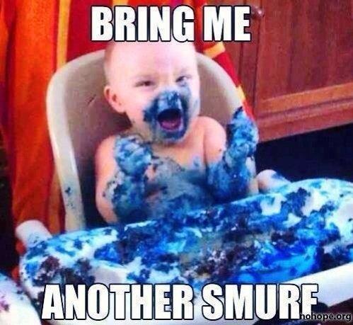 Gargamel as a child. . mine