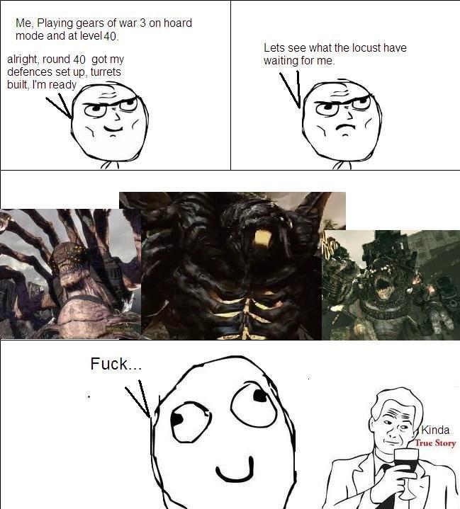 Gears 3. . Gear War bugkiller comic meme