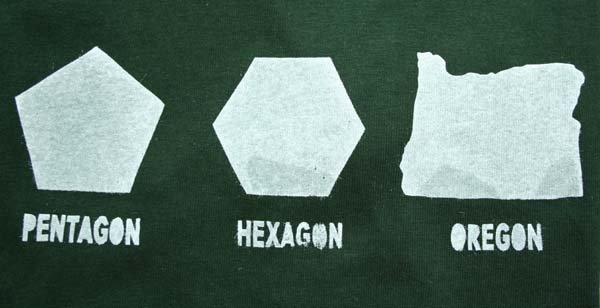 Geometry. not mine. PENTAGON HEXAGON OREGON. Porygon pun geometry