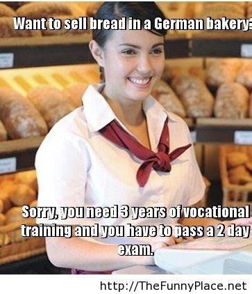 German fact. German fact . t. an bakery: thefunnyplace