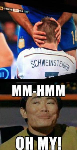 Germany vs. Argentina - oh my. Lel. world championsh