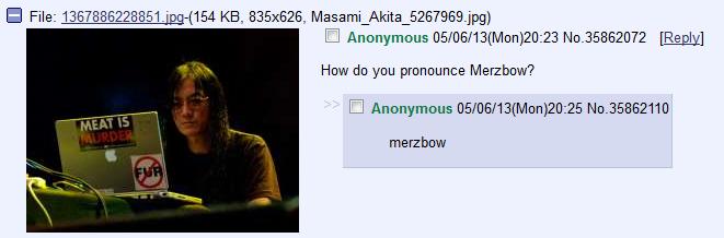 GG /mu/. . I Anonymous (/ ) 2023 No/ [Reply) How do you pronounce ? I Anonymous (/ ) 20: 25 No/ 35862110 me chow fuck