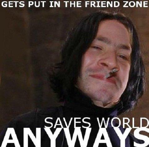 GGS. . GETS PUT IN THE FRIEND ZONE snape cape Rape ape grape Tape