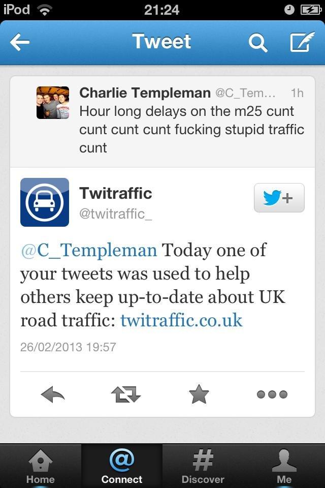 Glad I could help. . Charlie Templeton @C_ Tern... I I I it Hour long delays on the cunt cunt cunt cunt fucking stupid traffic cunt Fictraffic tirer Today one o Glad I could help Charlie Templeton @C_ Tern it Hour long delays on the cunt fucking stupid traffic Fictraffic tirer Today one o