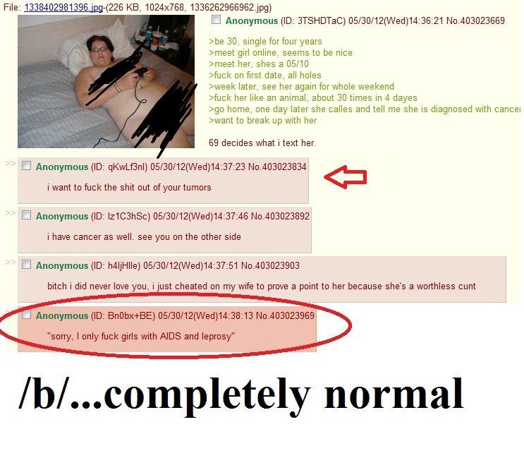 "God damn it /b/. god damn it. File: 1338402981 -( 226 HE. ""., 1336262966962, jpg) we 30. single dmeet girl online. seems to be nice dmeet her.. shes a M/ 10 stu b"