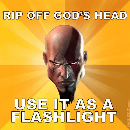 god of war is so not religios. so so true. god of war is so not religios true