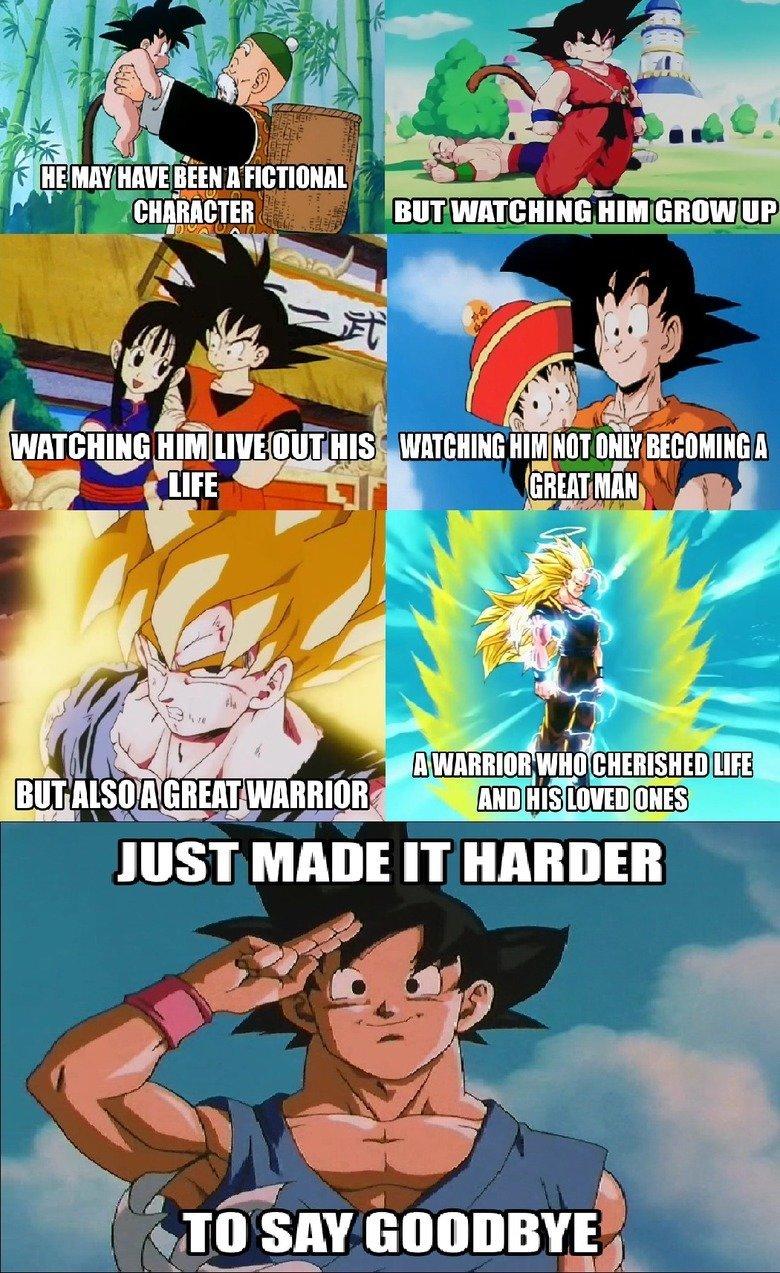 "Goku. . ipd Isa"" tlel Elif, WARRIOR f. this better be true dbz"