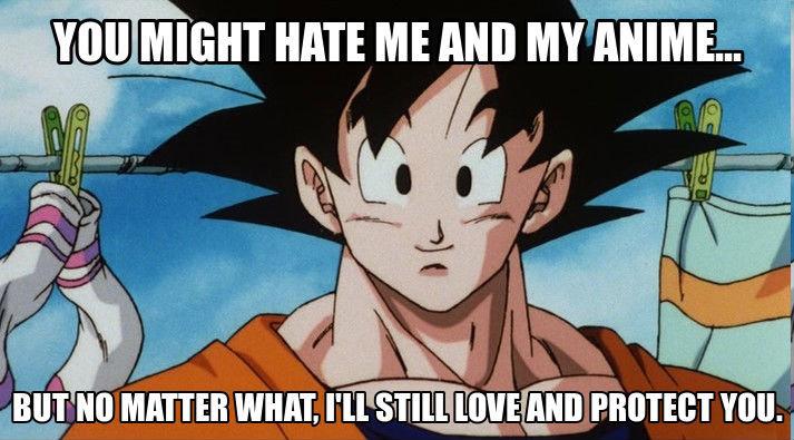 Goku. . an 31 El pr. I don't hate it, I'm just tired of seeing DBZ uploads 20 times each day. dbz