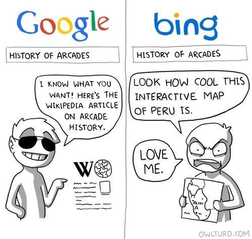 "google vs. bing. if bing changed its name to bang, you could say ""i just banged megan fox"". Google bi LOOK HON COOL THIS MAP I outloud YOU WANT! HERE' google vs bing if changed its name to bang you could say ""i just banged megan fox"" Google bi LOOK HON COOL THIS MAP I outloud YOU WANT! HERE'"