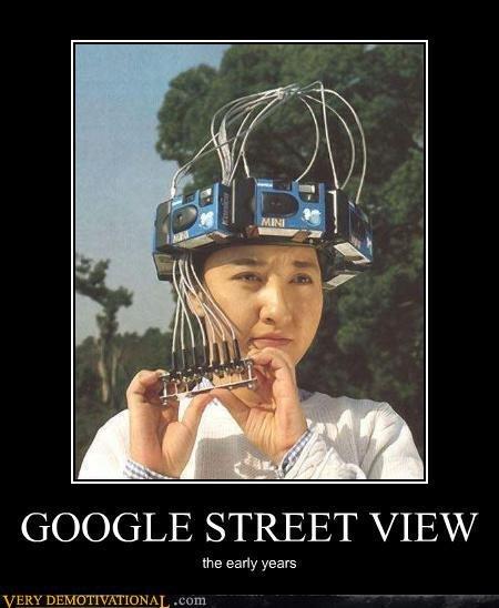 Google Street View. Google Street View. Bi idr 'lall It) GOOGLE STREET VIEW the early years Google Street Vi