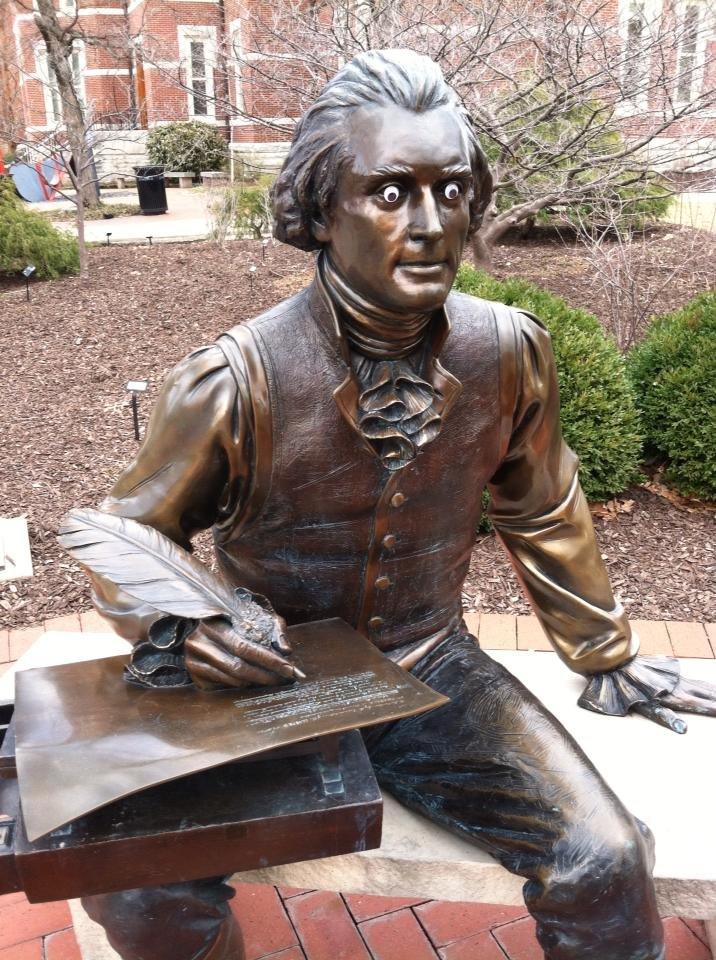 Googly Eyes Jefferson. . thomas jefferson america will smith or something idk