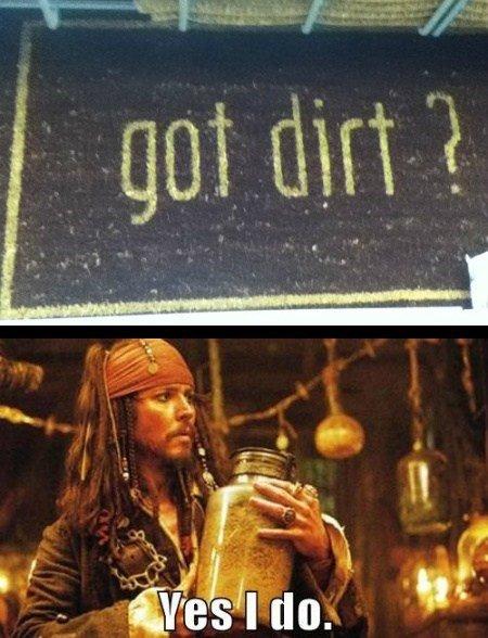 Got dirt?. . Got dirt?