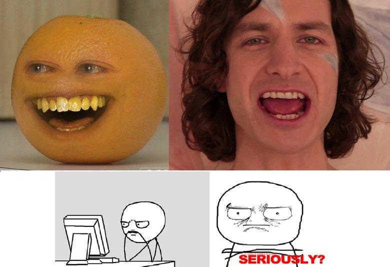 Gotye's Evolution?. . gotye evolution annoying orange