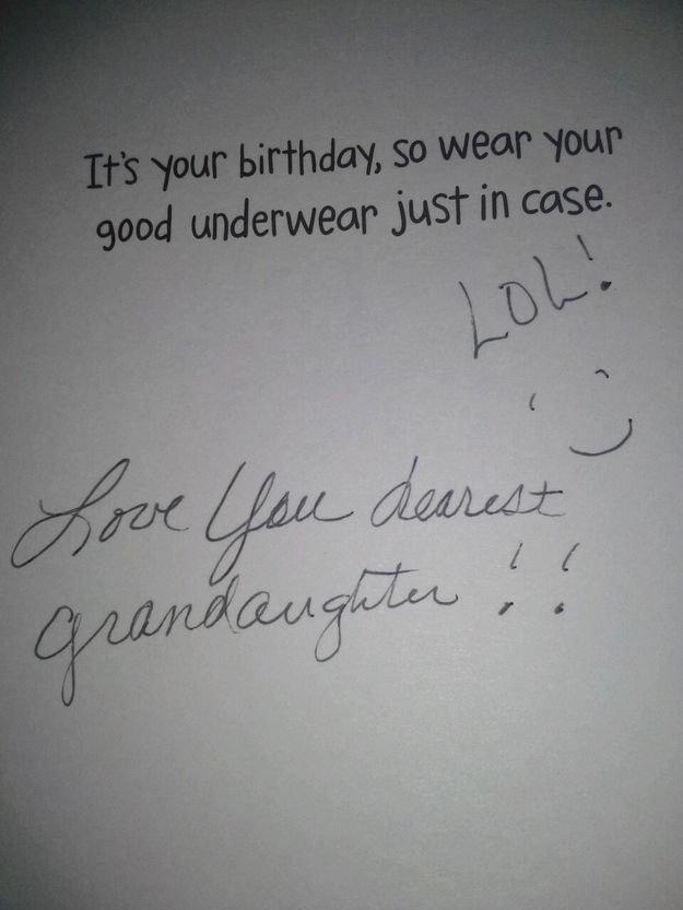 Grandma knows best. . asdasdasds