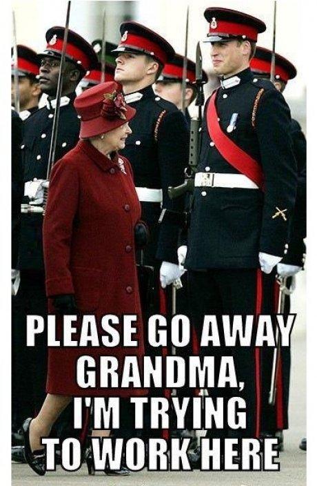 Grandma, please!. . Grandma please!