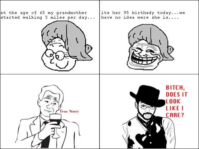 grandmother troll. . grandmother troll