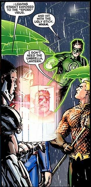 green lantern. pissing off fellow superheros since... ever. green lantern pissing off fellow superheros since ever