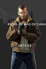 GTA logic. bout right.. hehehehehehehheeheehehh. I WISH IV WASN'T SUCH A FAIL PC PORT AND THAT I COULD RUN IT NORMALY. GTA IV Grand Theft Auto Niko Bellic