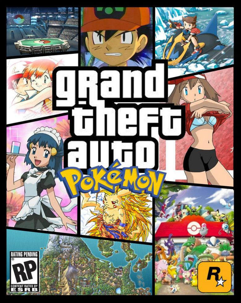 GTA: Pokemon. Found, not made.. GTA: Pokemon Found not made