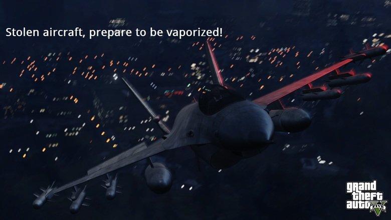 GTA V New Screenshots(edited). If ya guys ever played GTA SA you'll get it(i'm 100% certain you played gta san andreas:p). Stolen aircraft, prepare to be vapori no desc here