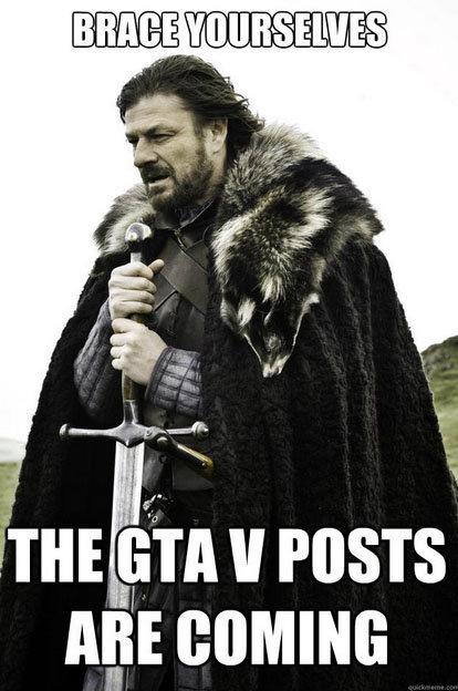 GTA V. The obligatory post. ll POSTS Am comm:. ....... Where? GTA V The obligatory post ll POSTS Am comm: Where?