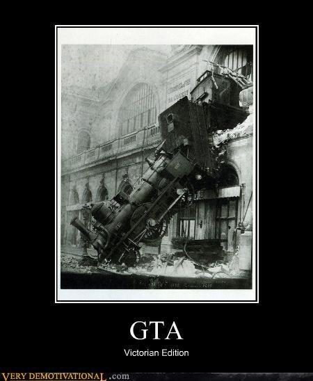 GTA. . Victorian mitten. sigh women drivers... GTA Victorian mitten sigh women drivers