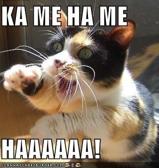 Ka Me Ha Me Ha Cat. My comic. plz read