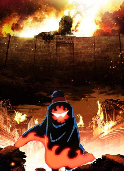 Kamina.. Source - Attack on Titan and Gurren Lagann. Anime gurren lagann Attack on Titan