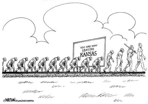 Kansas. So funny... It's soo true funny now leaving kansas monkeys
